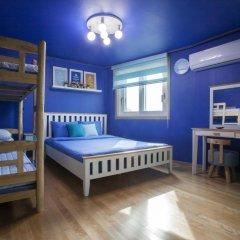 Отель Han River Guesthouse 2* Семейная студия с двуспальной кроватью фото 16