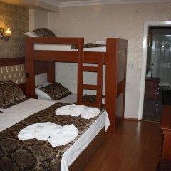 Big Apple Hostel & Hotel Семейный номер Делюкс с двуспальной кроватью