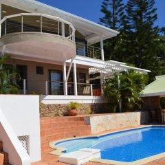 Отель Villa Blue Lagoon by Tahiti Homes Французская Полинезия, Папеэте - отзывы, цены и фото номеров - забронировать отель Villa Blue Lagoon by Tahiti Homes онлайн бассейн фото 2