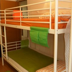 Hostel Vnukovsky Кровать в общем номере с двухъярусными кроватями фото 6