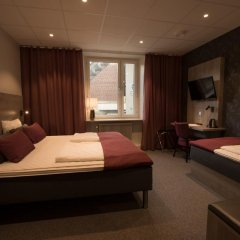 Отель Cityvandrarhemmet 2* Стандартный номер с различными типами кроватей фото 2