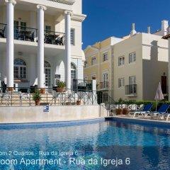Отель Akisol Vilamoura Village Португалия, Виламура - отзывы, цены и фото номеров - забронировать отель Akisol Vilamoura Village онлайн бассейн фото 3