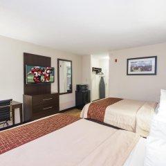Отель Red Roof Inn Columbus - Ohio State Fairgrounds 2* Номер Делюкс с 2 отдельными кроватями фото 4