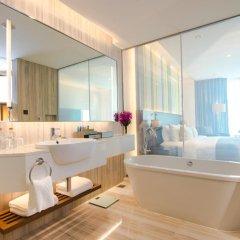 Отель Lancaster Bangkok 5* Номер Делюкс с различными типами кроватей фото 8