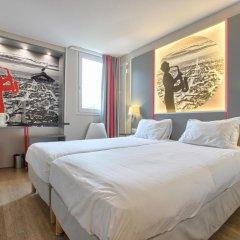 Отель Kyriad Paris Nord Porte de St Ouen 3* Стандартный номер с различными типами кроватей фото 5