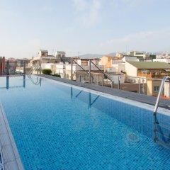 Отель Catalonia Barcelona 505 Испания, Барселона - 8 отзывов об отеле, цены и фото номеров - забронировать отель Catalonia Barcelona 505 онлайн бассейн фото 2