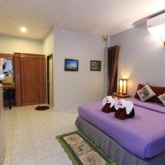 Отель Saladan Beach Resort 3* Бунгало с различными типами кроватей фото 36