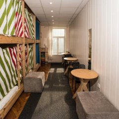 Хостел Архитектор Кровать в общем номере с двухъярусной кроватью фото 36