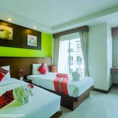 Green Harbor Patong Hotel 2* Улучшенный номер двуспальная кровать фото 3