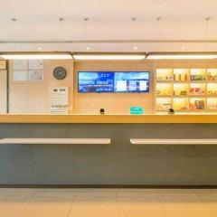 Отель Hanting Hotel Shenzhen Zhuzilin Китай, Шэньчжэнь - отзывы, цены и фото номеров - забронировать отель Hanting Hotel Shenzhen Zhuzilin онлайн интерьер отеля