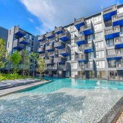 Отель The Deck Condo Patong Стандартный номер разные типы кроватей фото 15
