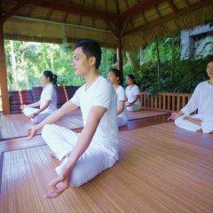 Отель Svarga Loka Resort фитнесс-зал