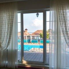 Гостиница Guest House Na Dache в Масловой пристани отзывы, цены и фото номеров - забронировать гостиницу Guest House Na Dache онлайн Маслова пристань балкон