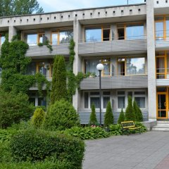 Гостиница Пансионат Балтика вид на фасад