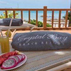 Отель Crystal Bay Beach Resort 3* Номер Делюкс с различными типами кроватей фото 2
