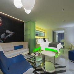 Отель W Mexico City 4* Стандартный номер с разными типами кроватей фото 2