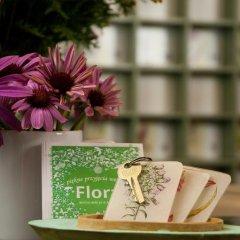 Hotel Flora 3* Стандартный номер с двуспальной кроватью фото 5