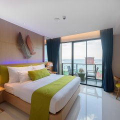 Отель Deep Blue Z10 Pattaya Стандартный номер с различными типами кроватей фото 22