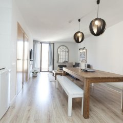 Апартаменты Happy Apartments Barcelona комната для гостей фото 4