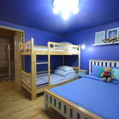 Отель Han River Guesthouse 2* Семейная студия с двуспальной кроватью фото 26