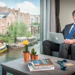 Отель Yays Bickersgracht Concierged Boutique Apartments Нидерланды, Амстердам - отзывы, цены и фото номеров - забронировать отель Yays Bickersgracht Concierged Boutique Apartments онлайн интерьер отеля фото 2