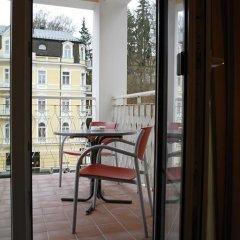 Отель Pension-Apartmany Cesky Dvur балкон