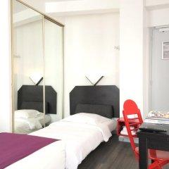Отель BRH Boulogne Résidence Hôtel 3* Улучшенная студия с различными типами кроватей фото 4