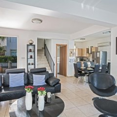 Отель Halle Villa Кипр, Протарас - отзывы, цены и фото номеров - забронировать отель Halle Villa онлайн комната для гостей фото 2
