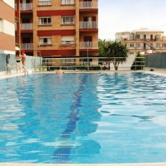 Отель Escor Испания, Калафель - отзывы, цены и фото номеров - забронировать отель Escor онлайн бассейн фото 2