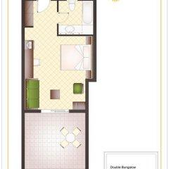 Sunshine Corfu Hotel & Spa All Inclusive 4* Бунгало с различными типами кроватей фото 7