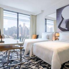 JW Marriott Hotel Singapore South Beach Номер Делюкс с двуспальной кроватью