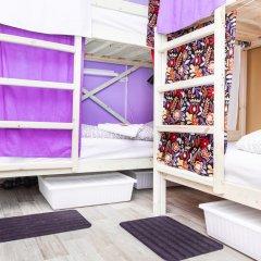 Гостиница Hostels Rus Vnukovo Кровати в общем номере с двухъярусными кроватями фото 12