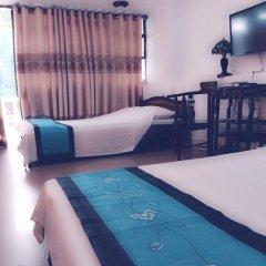 Thien Trang Hotel Номер Делюкс с различными типами кроватей фото 6
