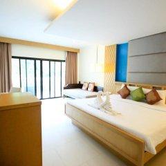 Отель Krabi Tipa Resort 3* Улучшенный номер с различными типами кроватей фото 3