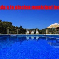 Отель Casa el Genal Хускар бассейн
