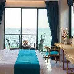 Отель Deep Blue Z10 Pattaya Стандартный номер с различными типами кроватей фото 23