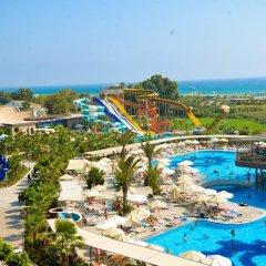 Sunmelia Beach Resort Hotel & Spa Турция, Чолакли - 3 отзыва об отеле, цены и фото номеров - забронировать отель Sunmelia Beach Resort Hotel & Spa - All Inclusive онлайн бассейн фото 3