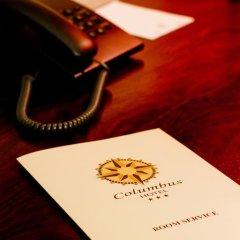 Columbus Hotel 3* Стандартный номер с двуспальной кроватью фото 8