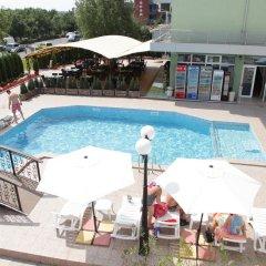 Отель Zaara Болгария, Солнечный берег - отзывы, цены и фото номеров - забронировать отель Zaara онлайн бассейн фото 3