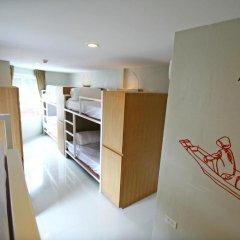 Chern Hostel Кровать в общем номере с двухъярусной кроватью фото 5