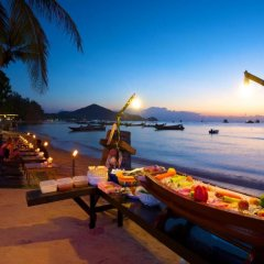 Отель Wind Beach Resort Таиланд, Остров Тау - отзывы, цены и фото номеров - забронировать отель Wind Beach Resort онлайн пляж фото 2