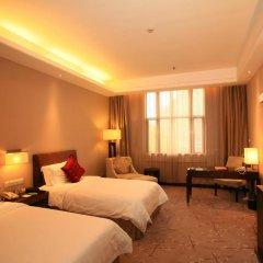 Jinjiang Nanjing Hotel 4* Номер Делюкс разные типы кроватей фото 5