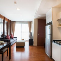 Amanta Hotel & Residence Ratchada 4* Апартаменты с различными типами кроватей фото 10