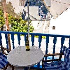 Отель Studio Maria Kafouros Греция, Остров Санторини - отзывы, цены и фото номеров - забронировать отель Studio Maria Kafouros онлайн балкон