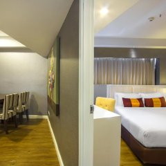 Отель D Varee Jomtien Beach 4* Стандартный номер с различными типами кроватей фото 8