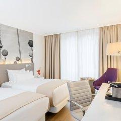 Отель NH Collection Berlin Mitte Am Checkpoint Charlie 4* Улучшенный номер с разными типами кроватей фото 21