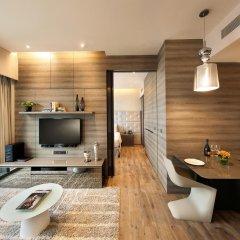 Отель Pan Pacific Serviced Suites Beach Road, Singapore удобства в номере