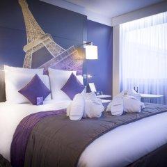 Отель Mercure Paris Centre Tour Eiffel 4* Улучшенный номер с различными типами кроватей фото 4
