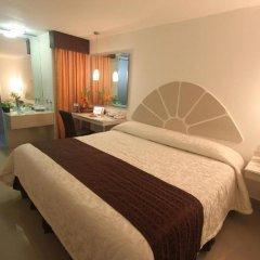 Отель Plaza Caribe Мексика, Канкун - отзывы, цены и фото номеров - забронировать отель Plaza Caribe онлайн комната для гостей фото 8