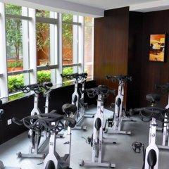 Отель Howard Johnson Business Club Китай, Шанхай - отзывы, цены и фото номеров - забронировать отель Howard Johnson Business Club онлайн фитнесс-зал
